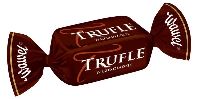 Cukierki Trufle w czekoladzie