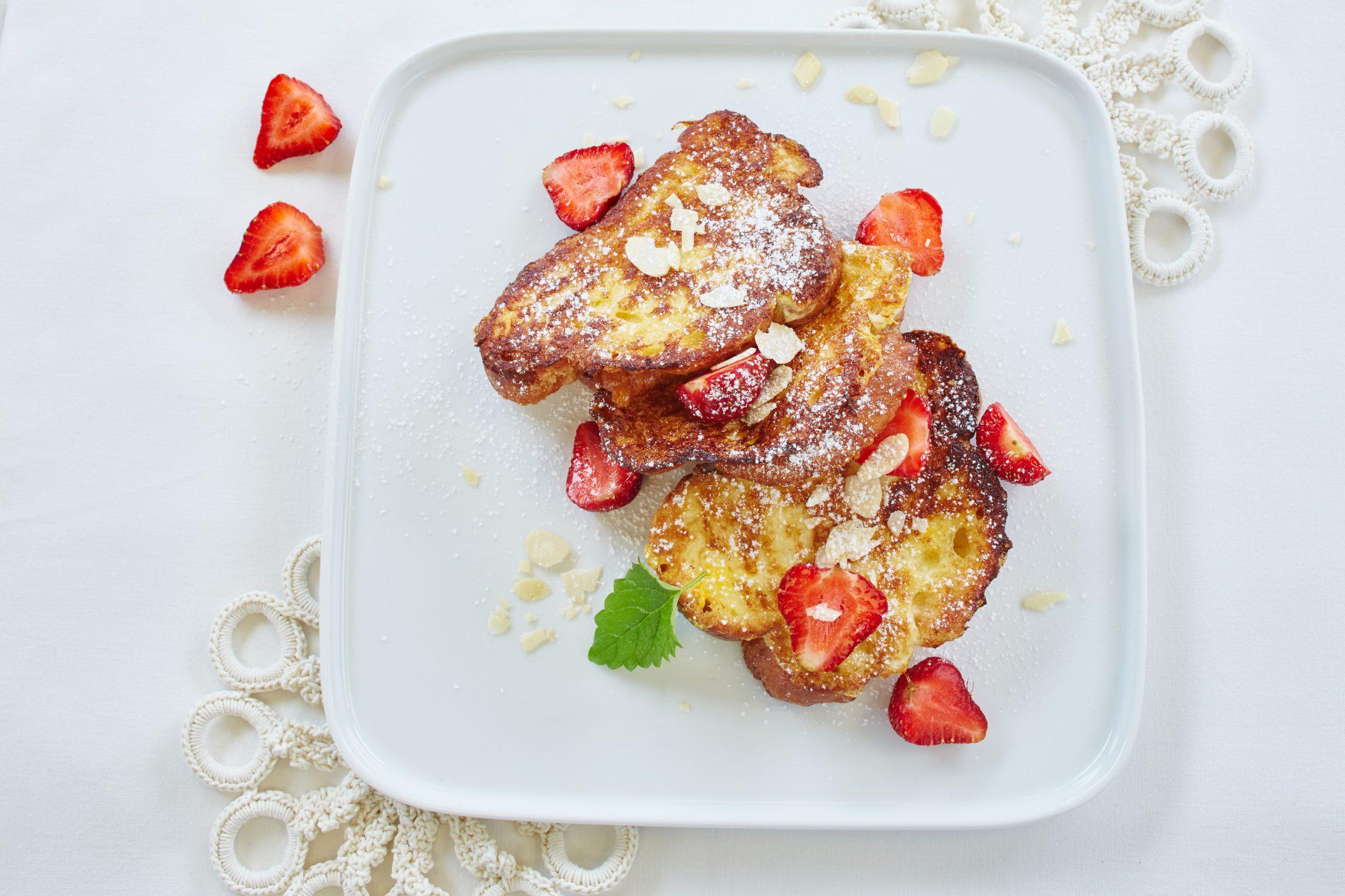 Truskawkowe śniadanie na Walentynki