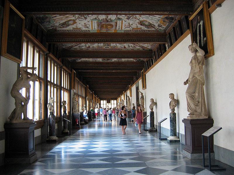 Quizy, Galeria Uffizi - Zwierciadlo.pl
