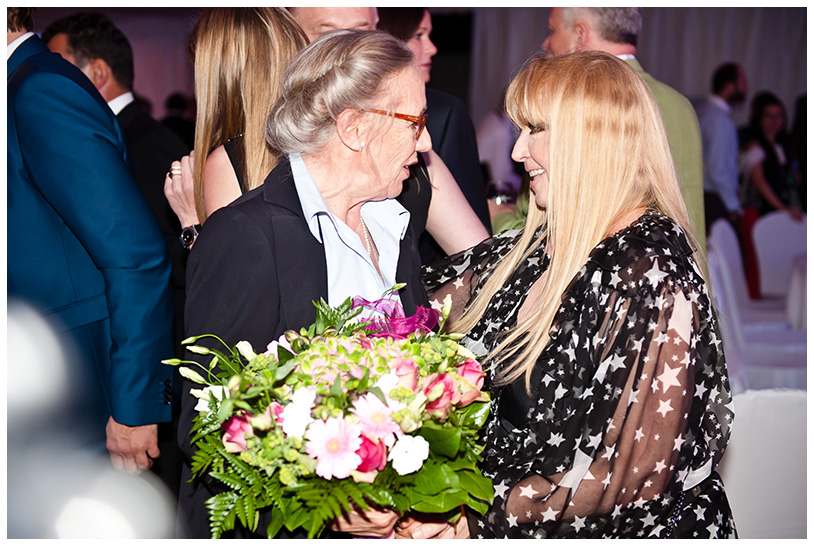 Gala Kryształowe Zwierciadła 2012, Maja Komorowska, Maryla Rodowicz