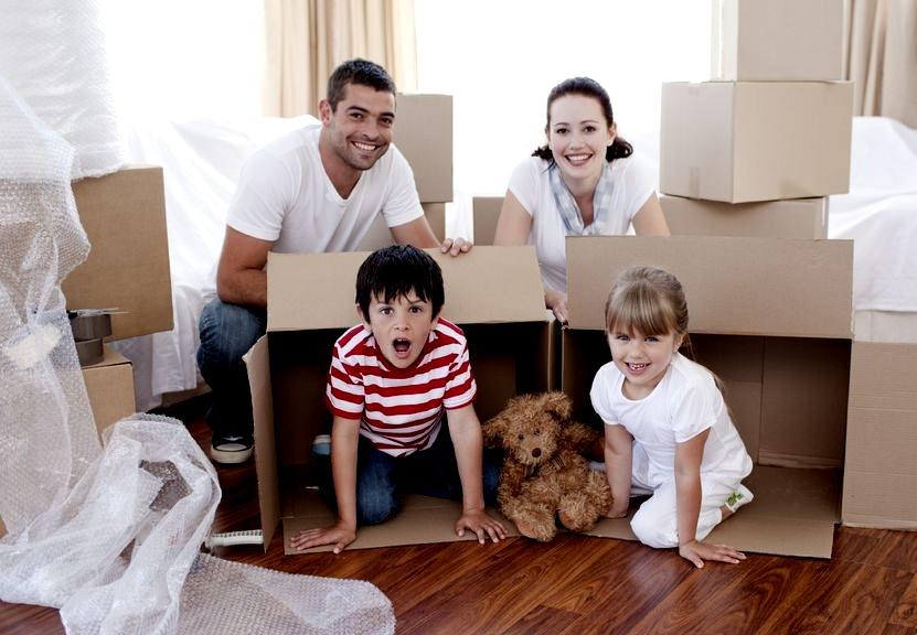 Zabawy z dziećmi: domek w domku