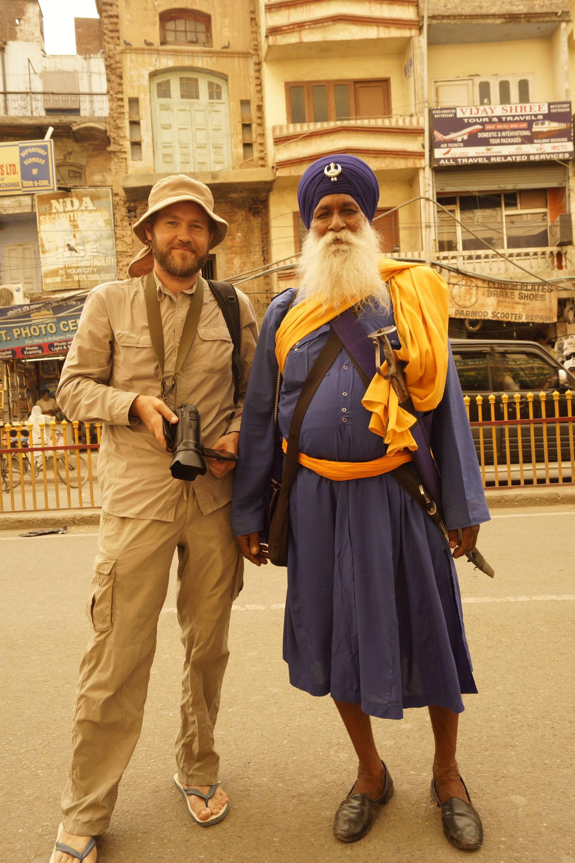 Ortodoksyjny sikh i mniej ortodoksyjny podróżnik