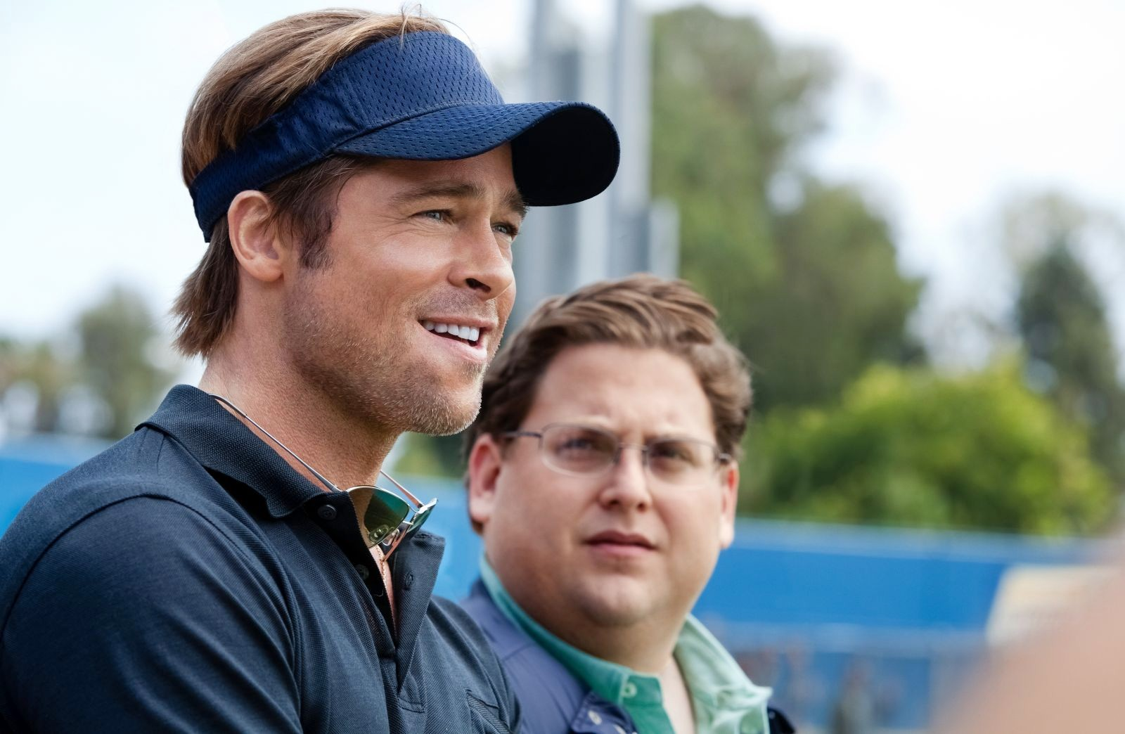 """Brad Pitt w zwiastunie filmu """"Moneyball"""""""
