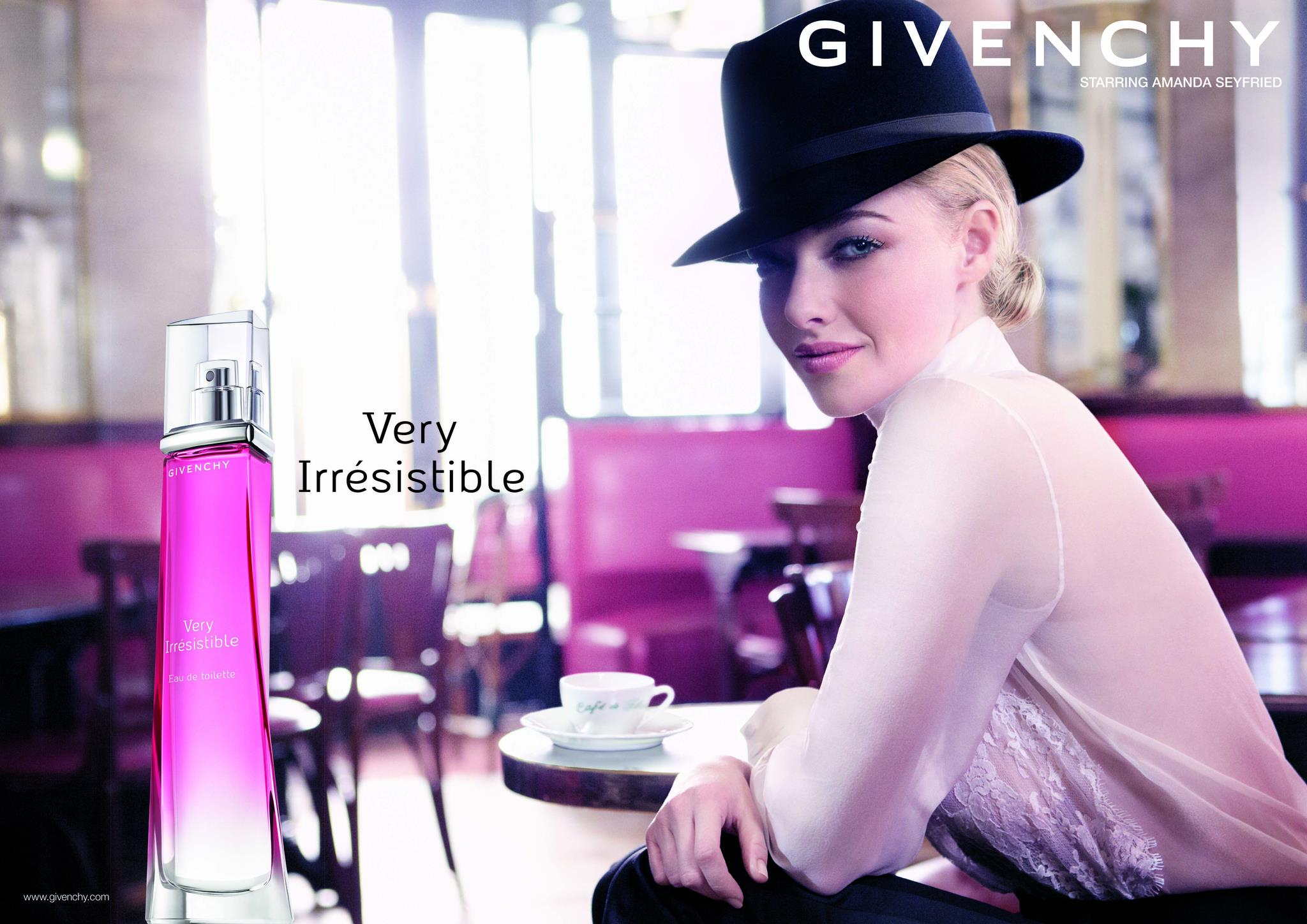 Amanda Seyfried nową twarzą perfum Givenchy