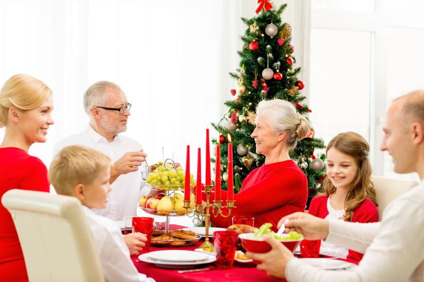 Ze stoickim spokojem przy świątecznym stole