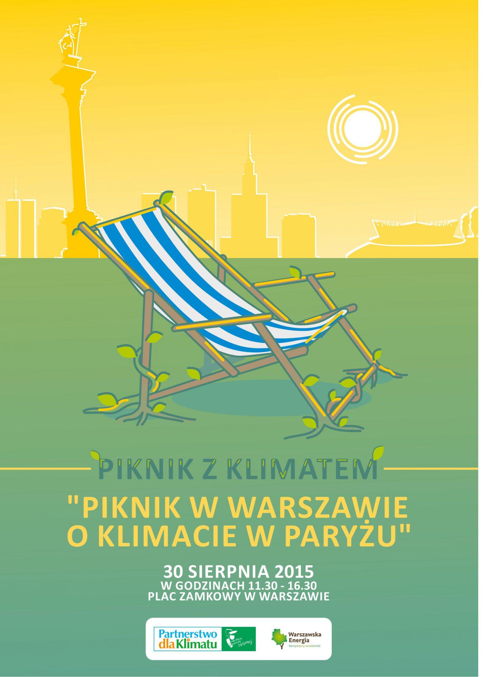 Piknik z Klimatem na Placu Zamkowym w Warszawie