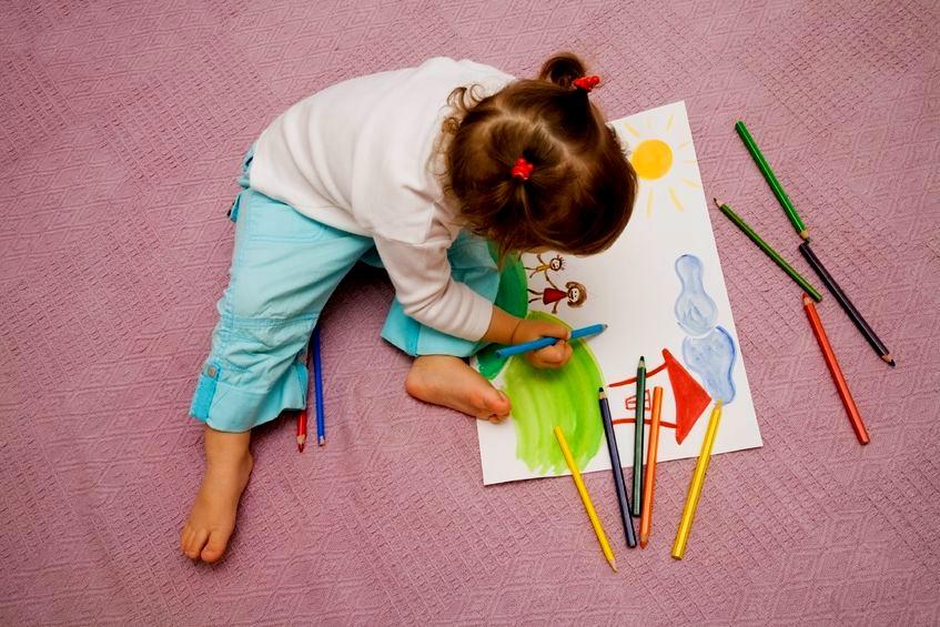 Подарок ребенку который рисует