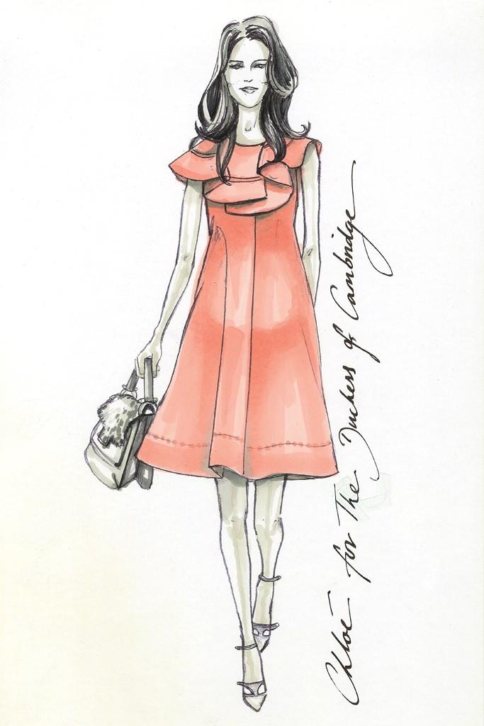 Projektanci dla Kate Middleton / Chloe