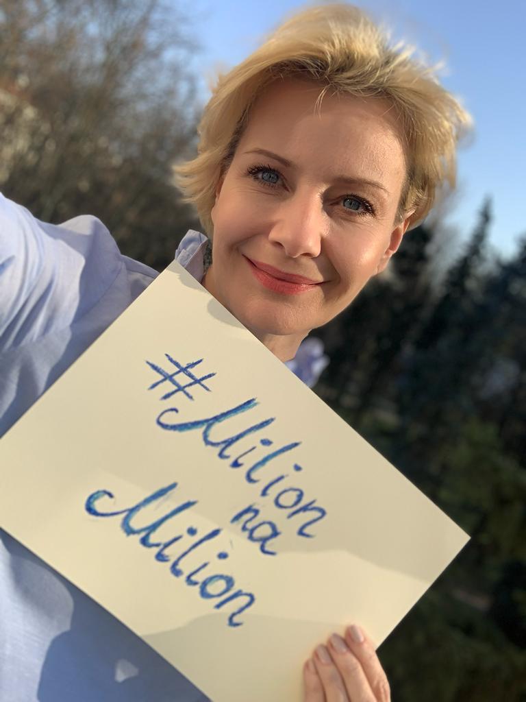 Małgorzata Kożuchowska startuje z nową akcją #milionnamilion