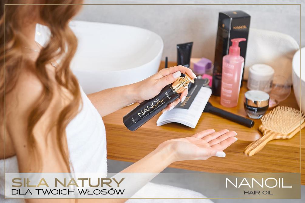 Olejek Nanoil, czyli moc korzyści w pielęgnacji włosów