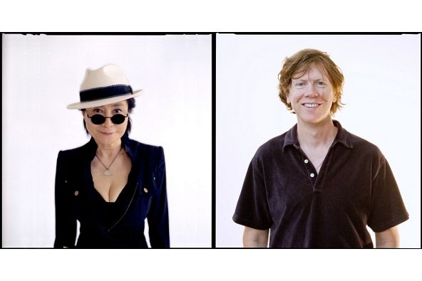 Yoko Ono i Thurston Moore