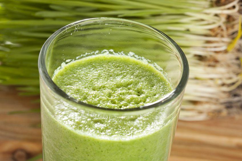 sok z trawy