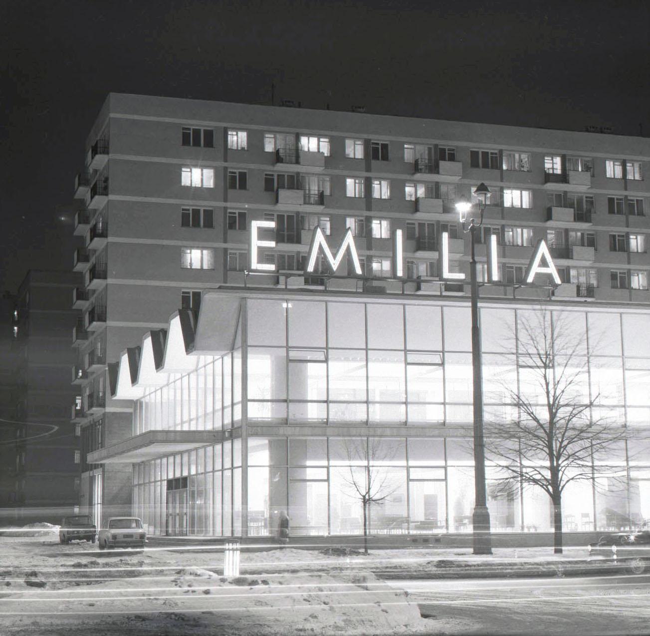 Dom meblowy Emilia, ok. 1970, fot. Archiwum Biura Projektów Budownictwa Ogólnego Budopol S.A