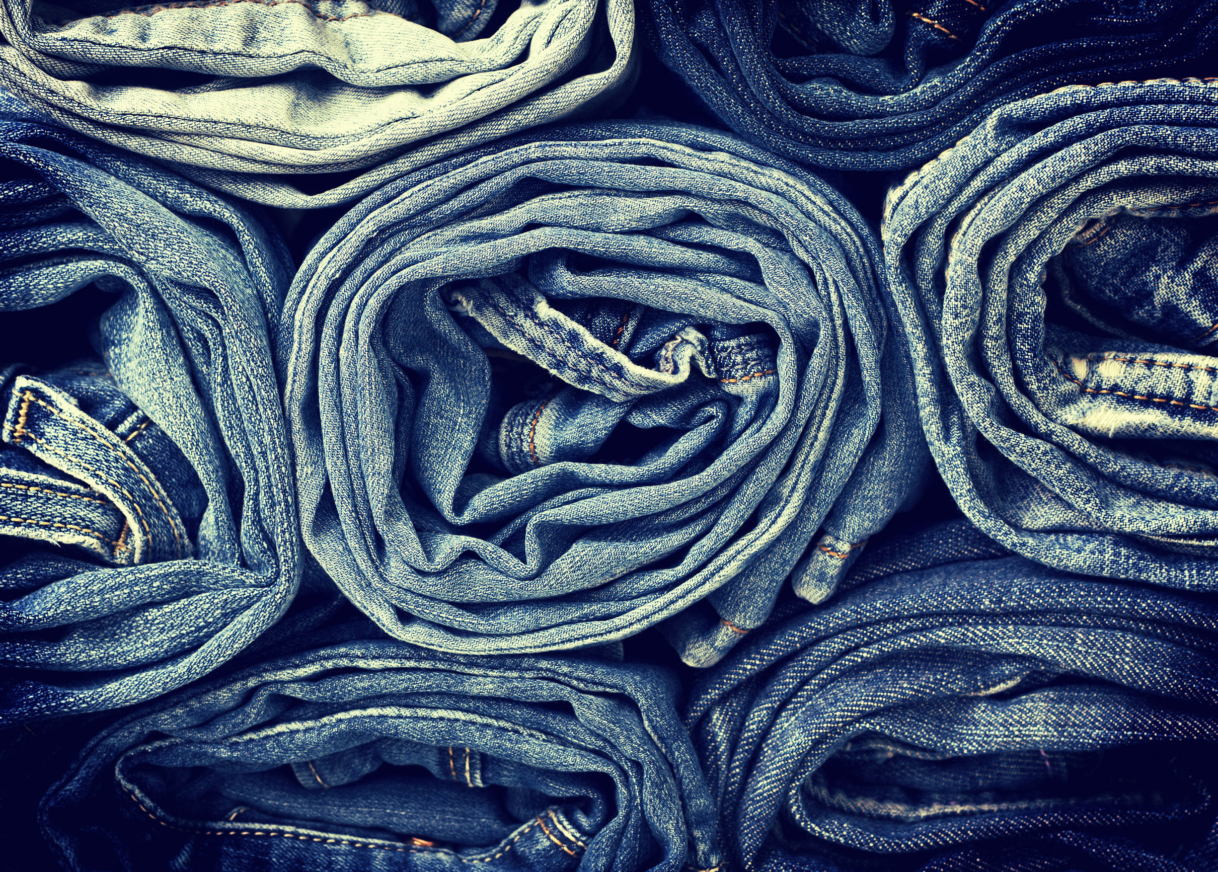 35400389 - denim background