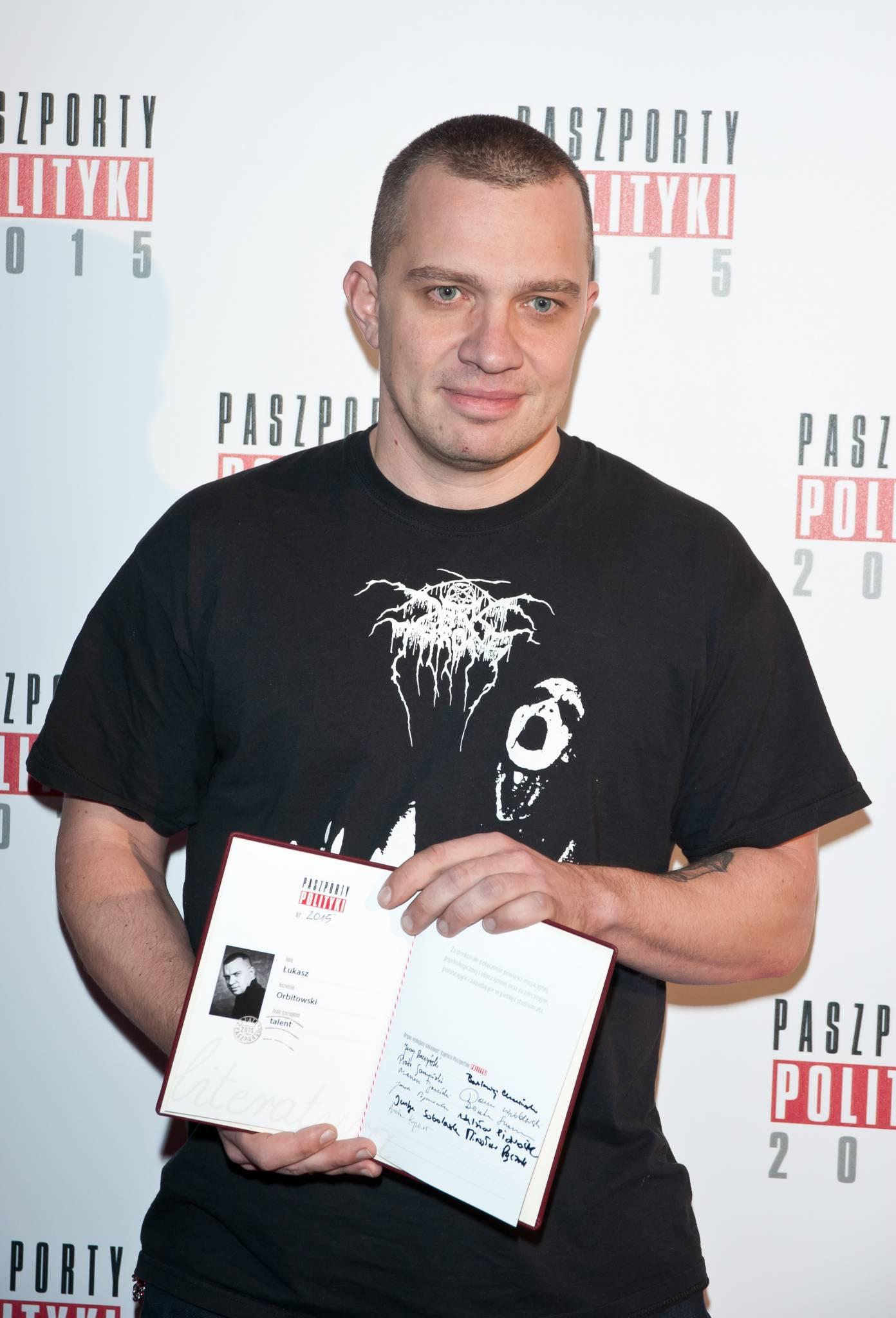 Łukasz Orbitowski: Przejaskrawiony