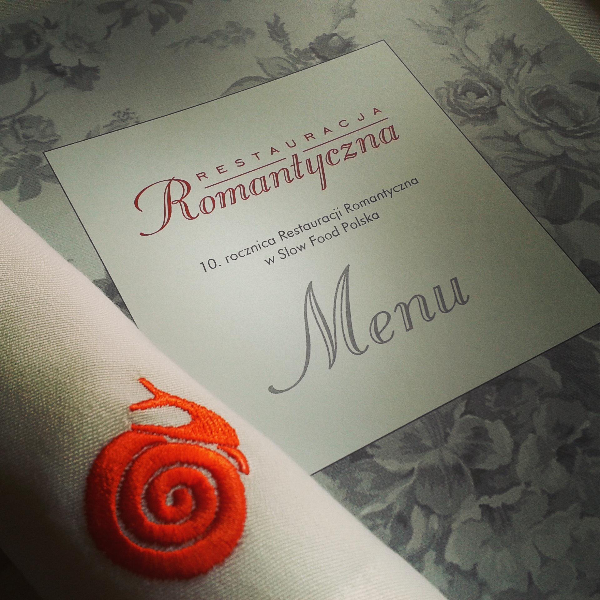 10 lat Restauracji Romantyczna na rzecz Slow Food