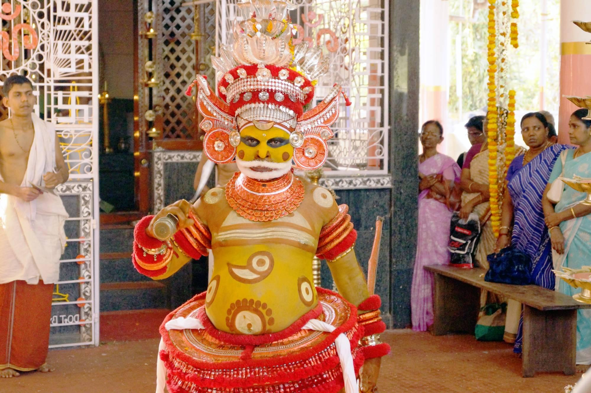 Mutapa w Kannur w Kerali