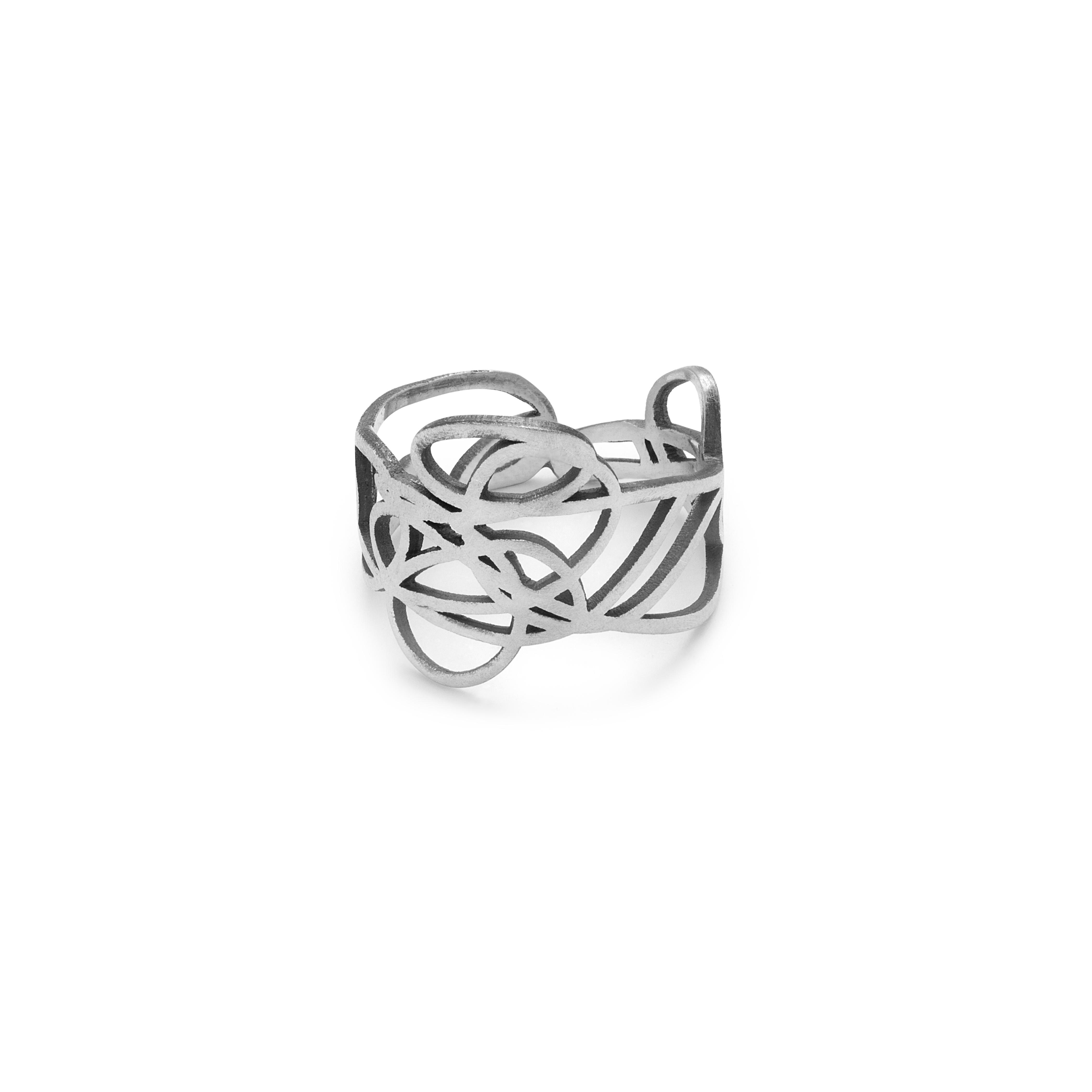 Kasia Wojcik - June Design -Bazgrol - pierscionek 299.zl