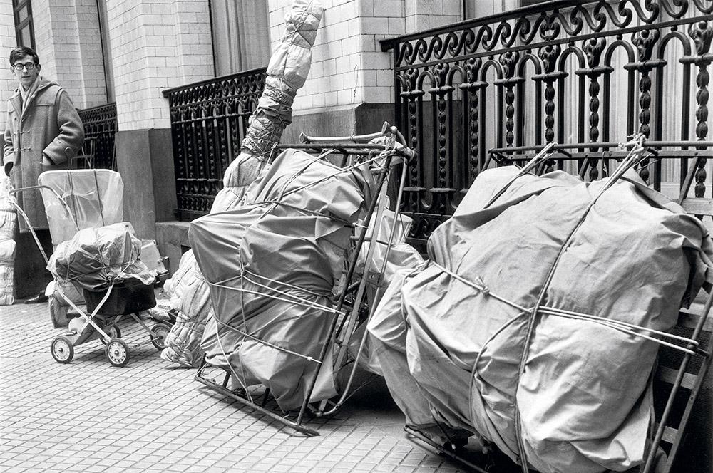 Christo i Jeanne-Claude w Paryżu - piękny epilog