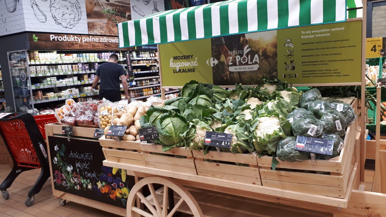 Demokratyzacja żywności bio - transformacja żywieniowa w Carrefour