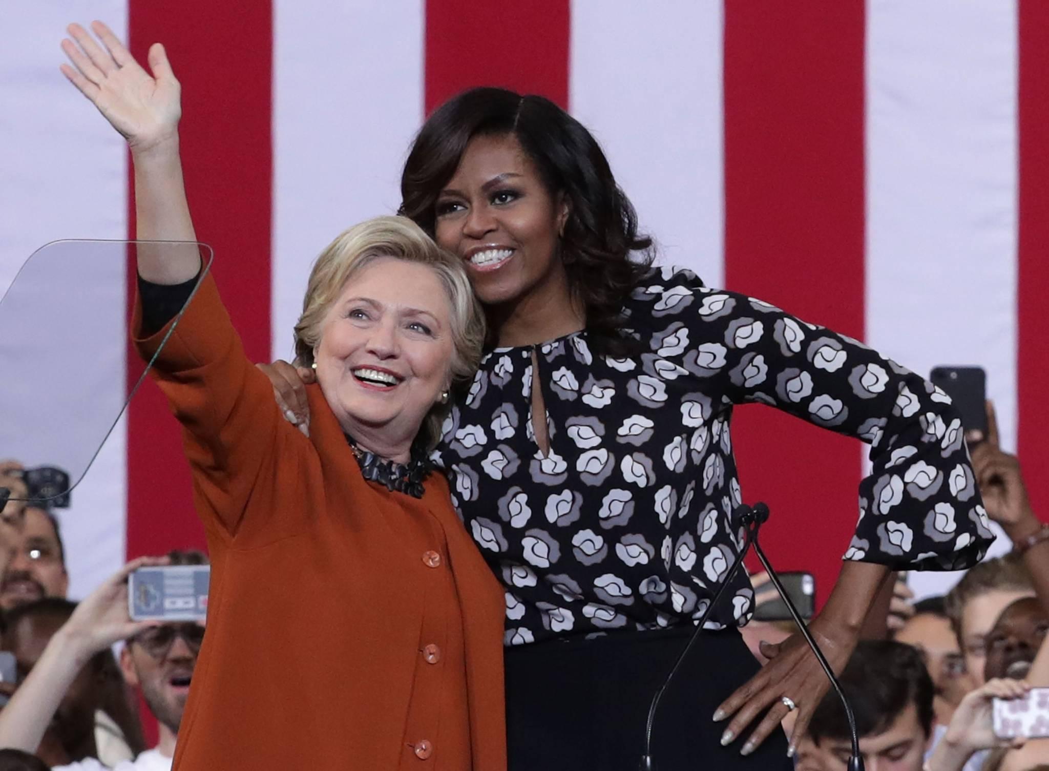 Michelle Obama: Na pierwszym planie