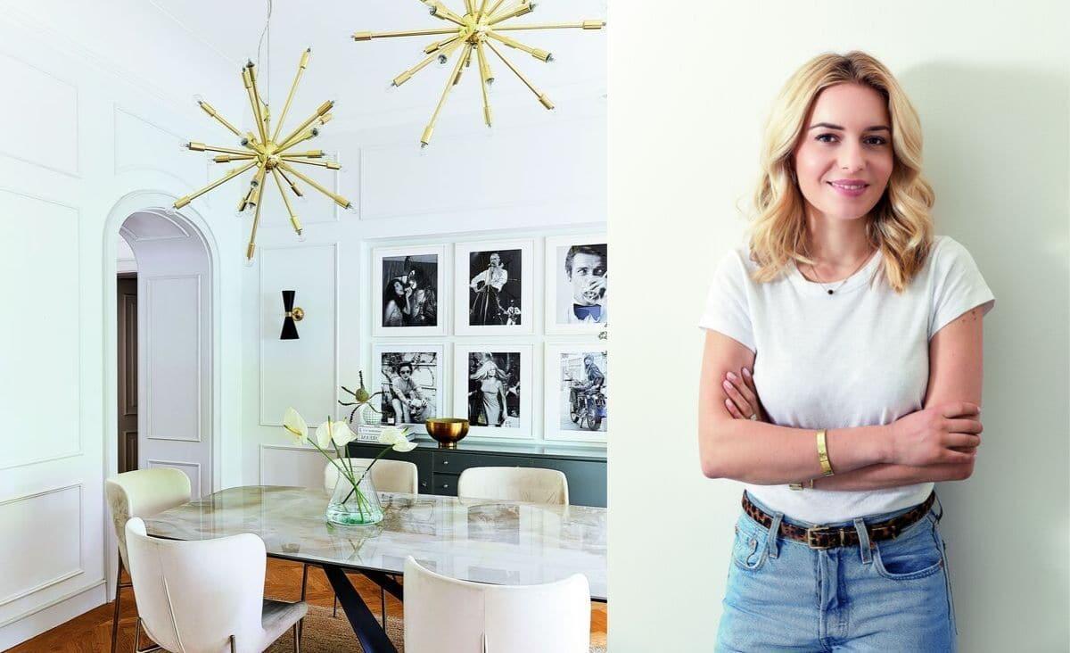 Delia Lachance lubi zmiany. Właśnie przemeblowała całe mieszkanie w stylu cosy chic. Jest i przytulnie, i elegancko. (Fot. materiały prasowe)