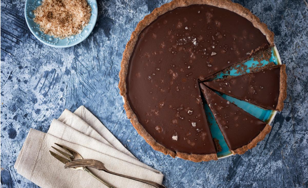 Tarta czekoladowa z solonym karmelem