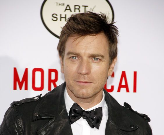 56845350 - ewan mcgregor at the los angeles premiere of 'mortdecai' held at the tcl chinese theater in hollywood on january 21, 2015.