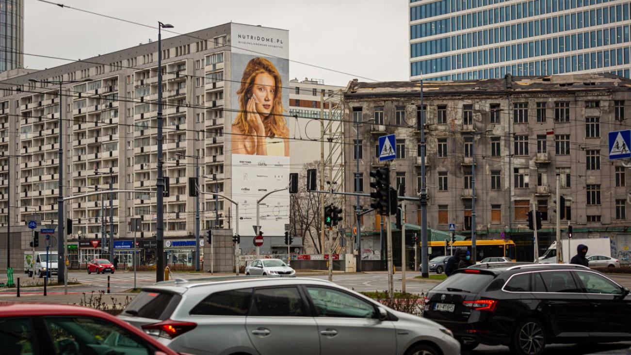 Ekologiczny mural Nutridome oczyści miliony metrów sześciennych powietrza