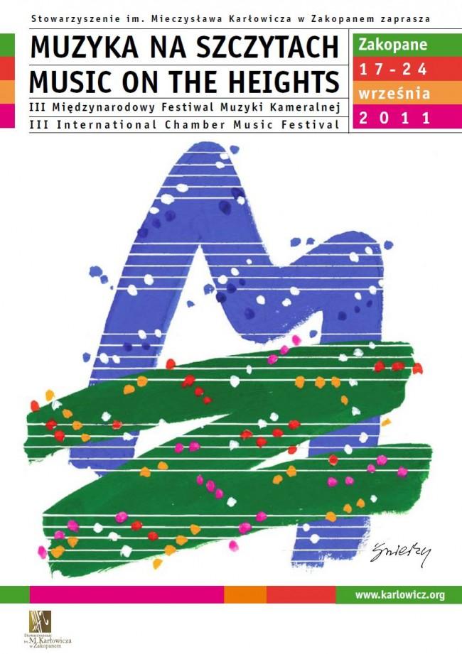 Muzyka na Szczytach 2011 już wkrótce w Zakopanem