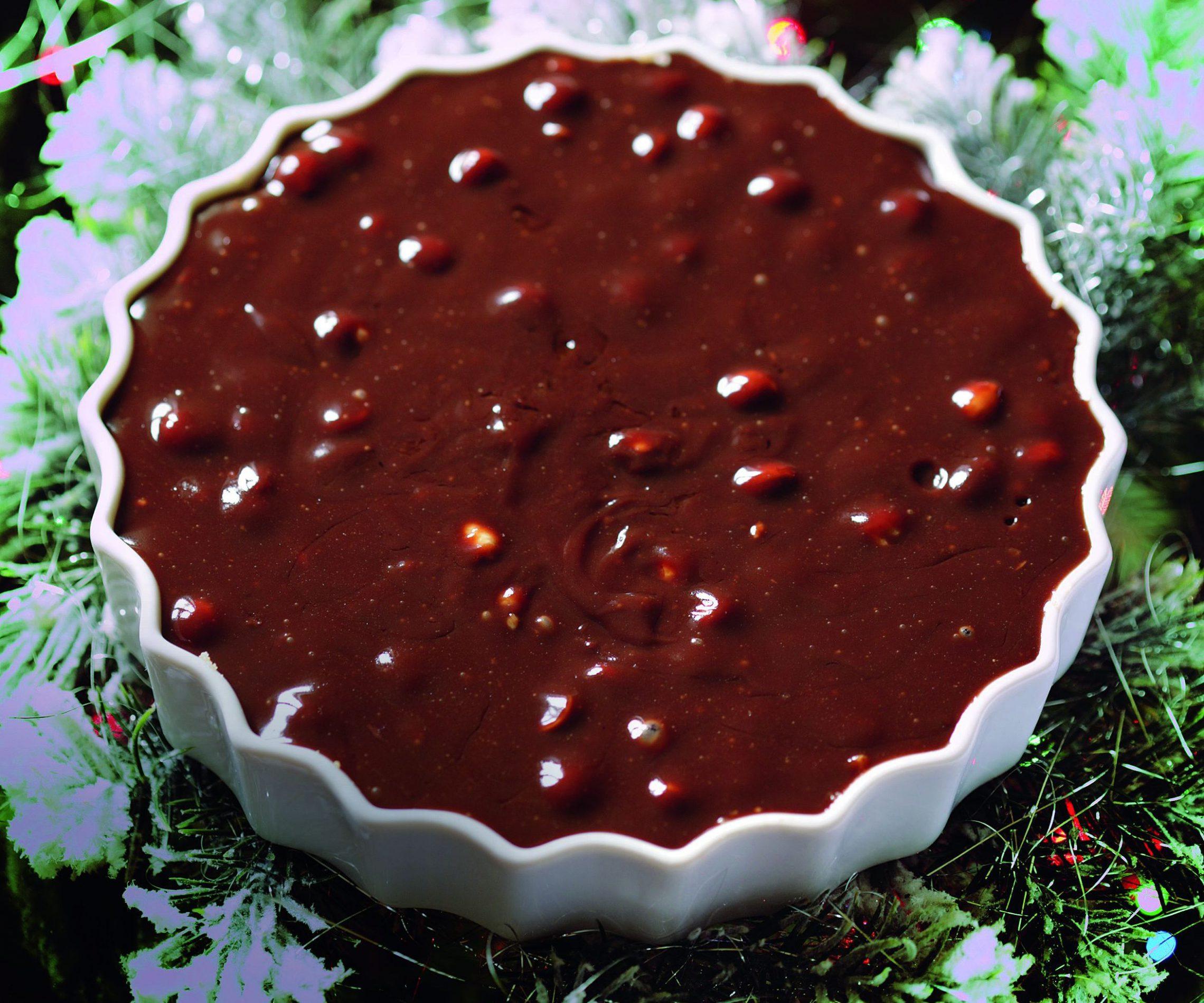 Tarta z czekoladą