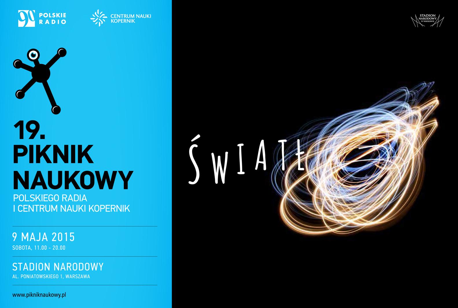 19 Piknik Naukowy już 9 maja w Warszawie