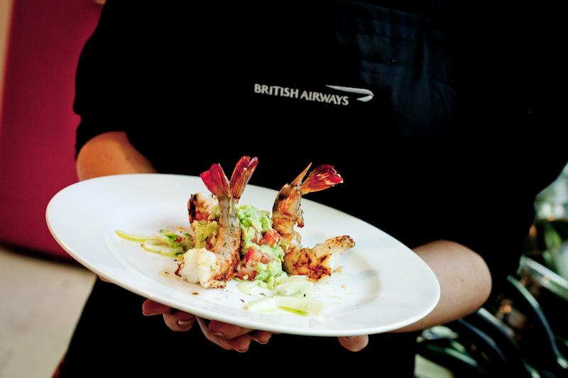 British Airways i kuchnia