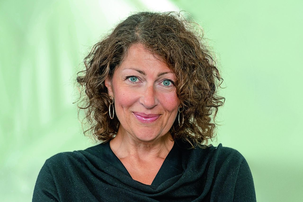 Elisabeth Åsbrink, szwedzka pisarka i dziennikarka. (Fot. Roberto Ricciuti/Getty Images)