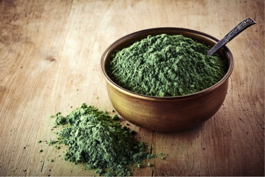 chlorella powder small