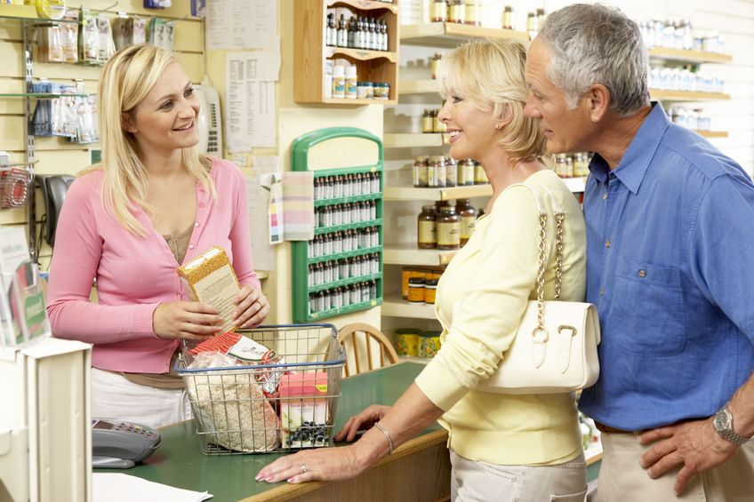 Zakupy w osiedlowym sklepie