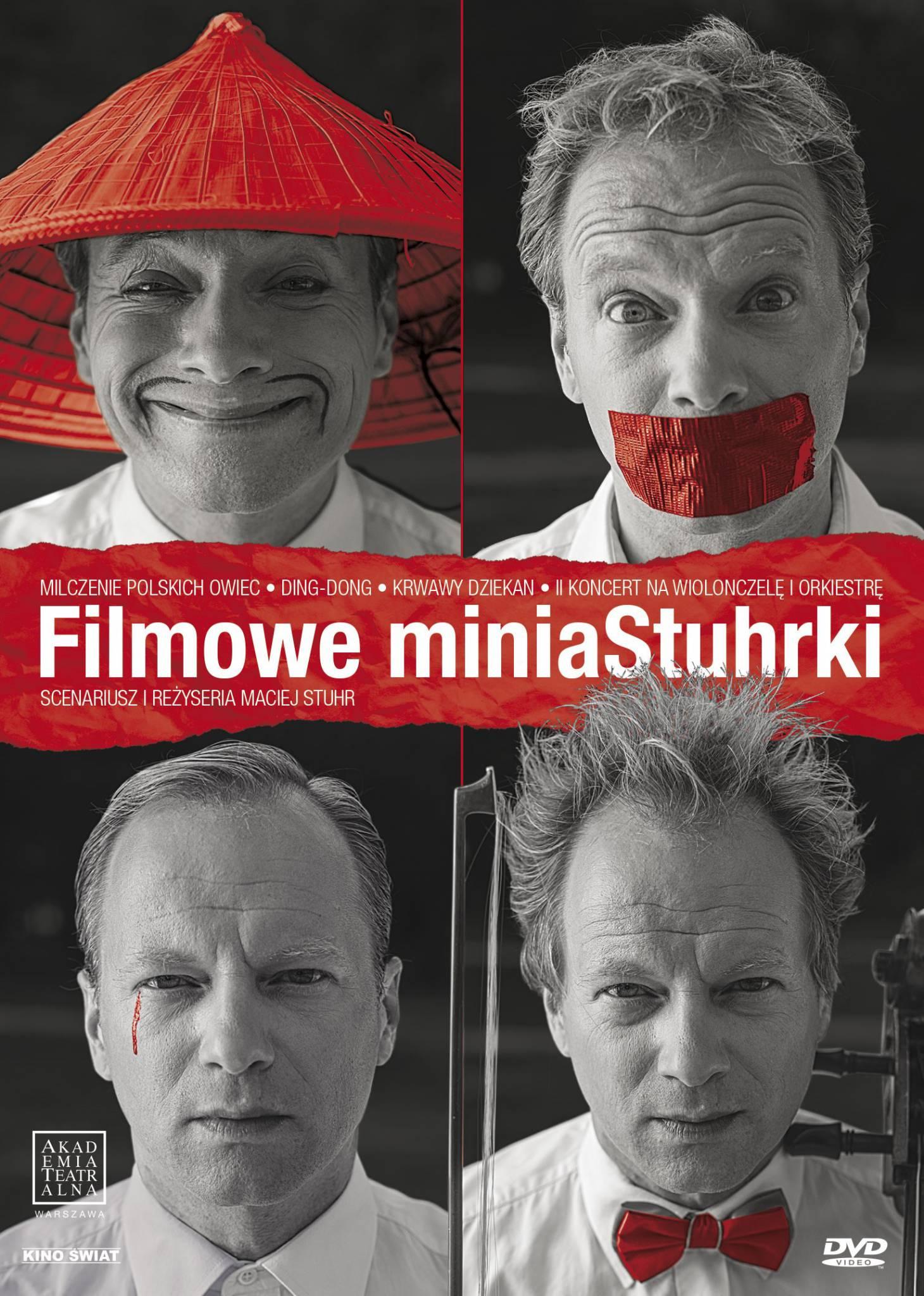 """Maciej Stuhr i jego """"Filmowe miniaStuhrki"""""""