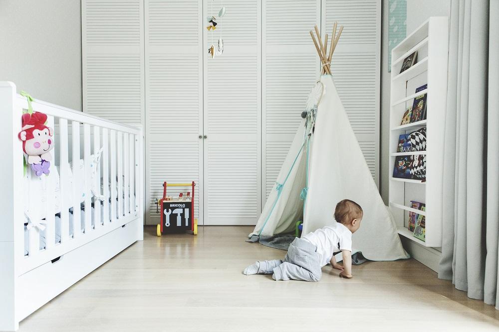 Skandynawski design w pokoju dziecka
