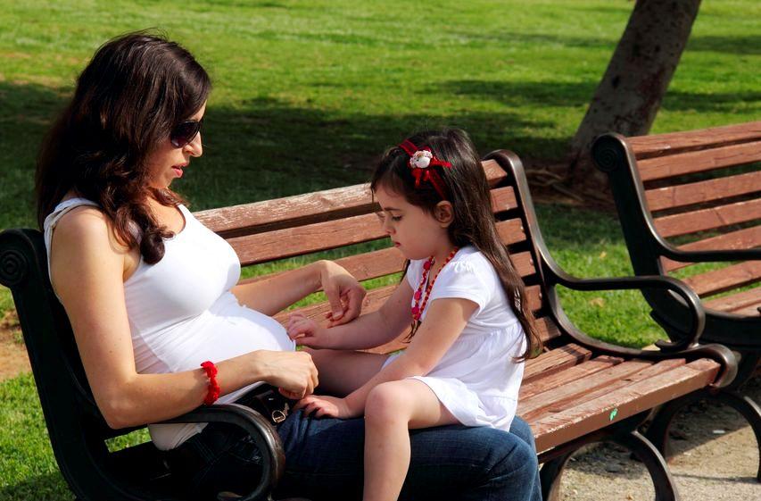 Mama w ciąży: będziesz miał rodzeństwo
