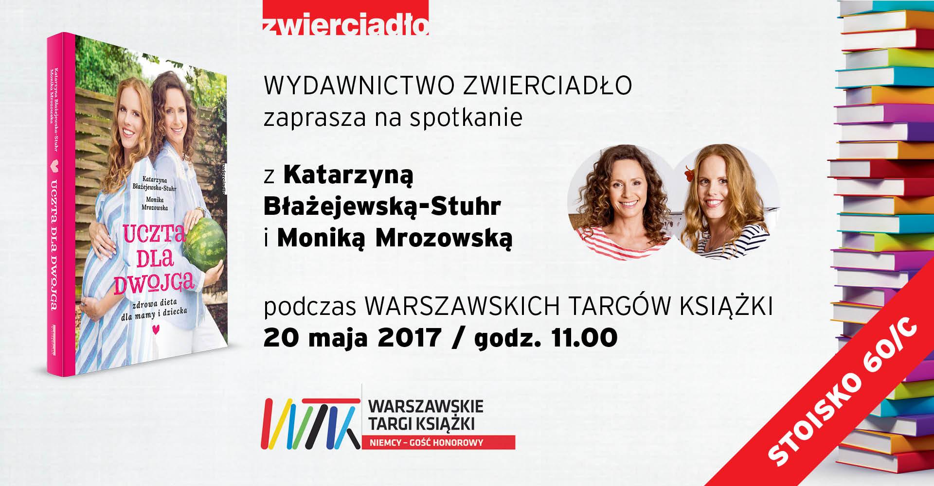 Wydawnictwo Zwierciadło zaprasza na Warszawskie Targi Książki