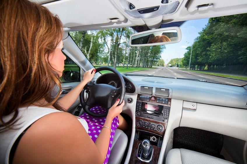 Kobieta za kółkiem - ja kierowca