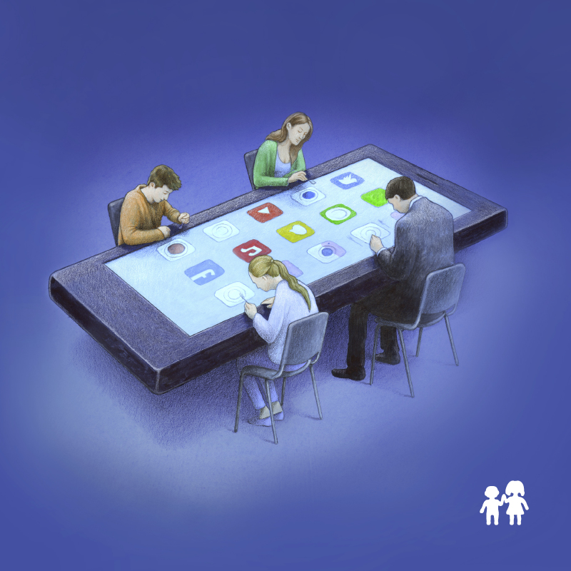 Domowe zasady ekranowe -
