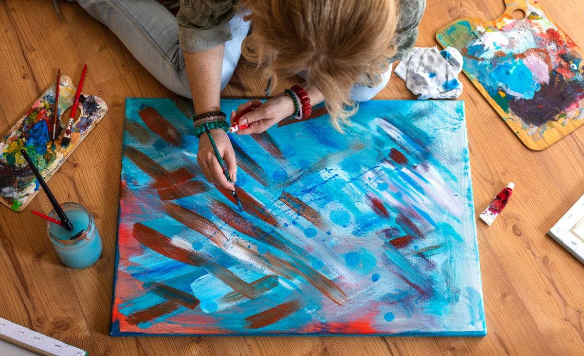 Malowanie intuicyjne - maluj i zmieniaj s