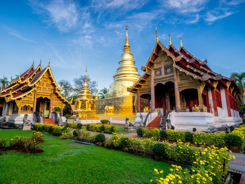 Tajlandia: Miasto Świątyń