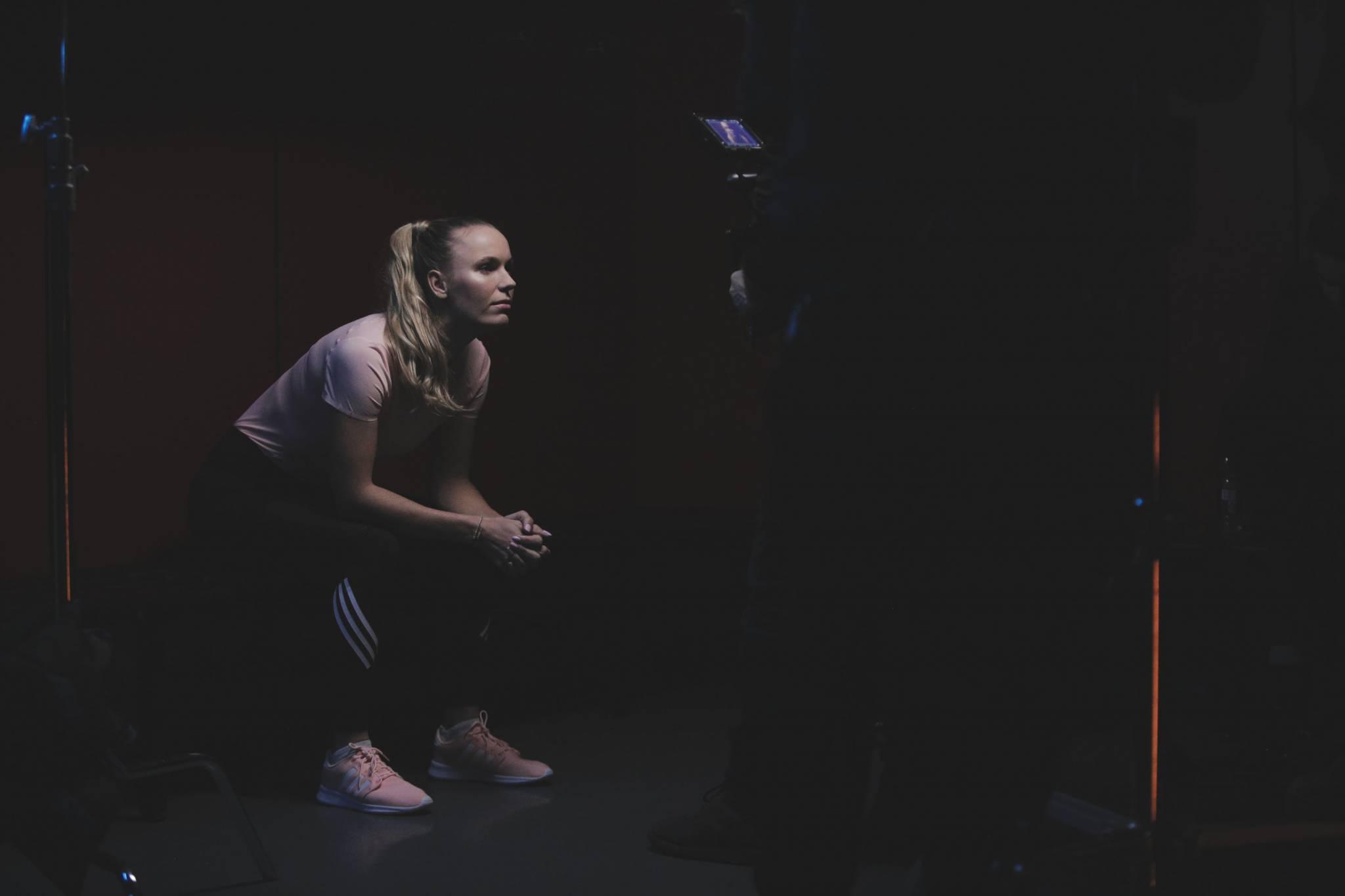 Caroline Wozniacki gwiazda tenisa, rzeczniczka kobiet cierpiących na przewlekłe choroby zapalne