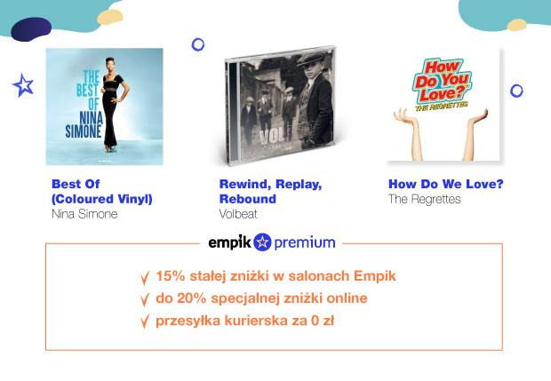 Muzyczne nowości – co kupimy taniej z Empik Premium?