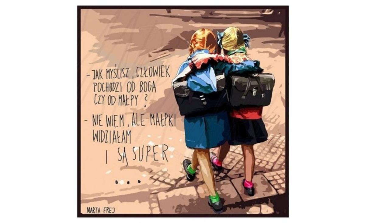 Terapia memami - Marta Frej o tym, w czym pomagają jej i innym rysunki z podpisami