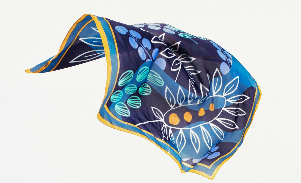 #ModnaSztuka minikolekcja apaszek marki SOLAR