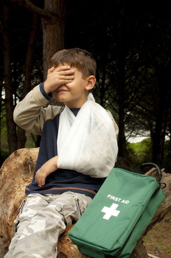 Co robić, gdy dziecku przytrafia się wypadek?