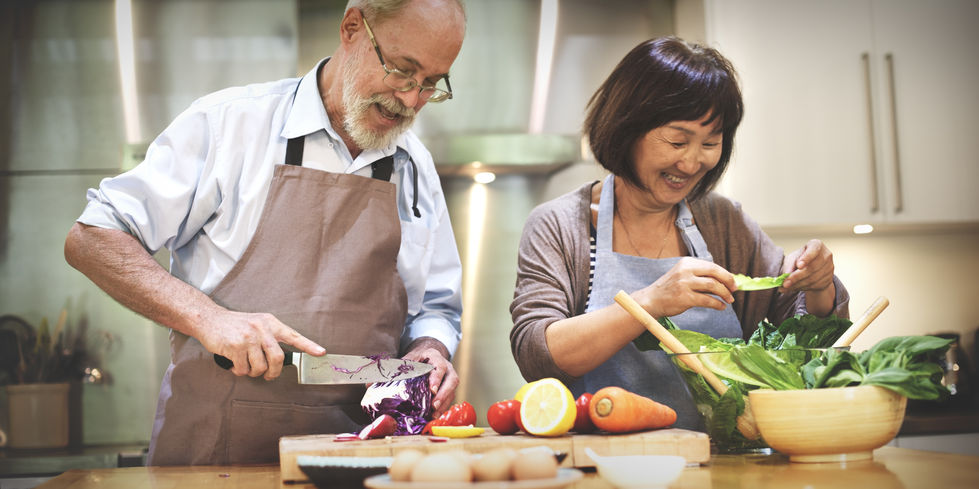 52353421 - family cooking kitchen food togetherness concept